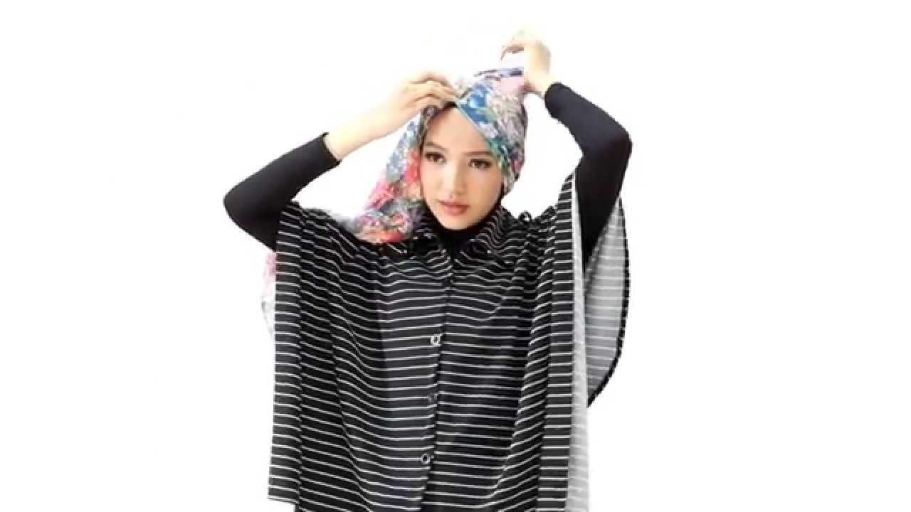 Tutorial Hijab Layer Samping YouTube