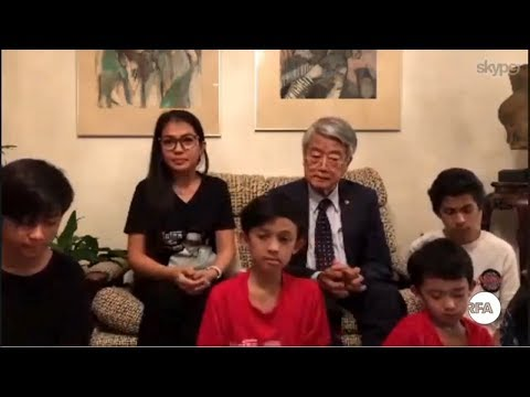 RFA Khmer - Interview Dr. Kem Ley's Wife and Mr. Lim Hong Over New Residence in Australia