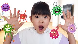 Wash Your Hands Song about virus story | Nursery rhymes & Kids song By LoveStar