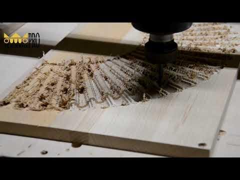 Производство резной накладки из дерева на станке с ЧПУ