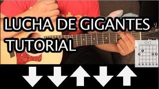 """Como tocar """"Lucha de Gigantes"""" de Nacha Pop - Tutorial Guitarra (Acordes) HD"""