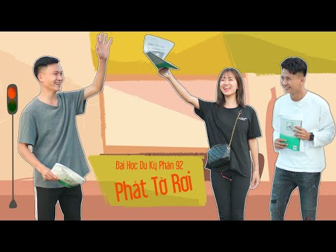 PHÁT TỜ RƠI | Đại Học Du Ký - Phần 92 | Phim Ngắn Siêu Hài Hước Sinh Viên Hay Nhất Gãy TV