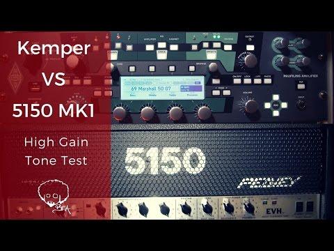 Kemper Vs 5150 - Hi Gain Tone Test