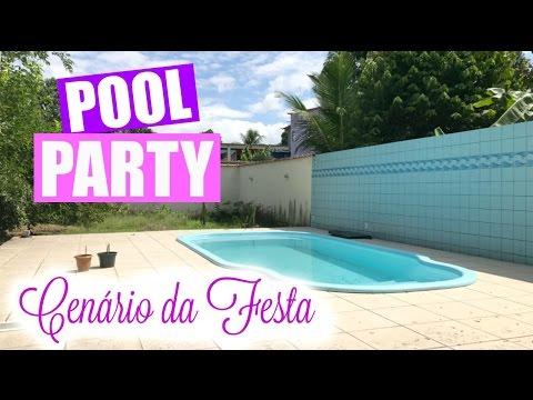 POOL PARTY, O CENÁRIO DA FESTA   Por Glaucia Sioli