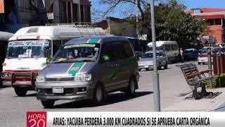 YACUIBA PERDERÁ 3 000 KM CUADRADOS SI SE APRUEBA CARTA ORGÁNICA