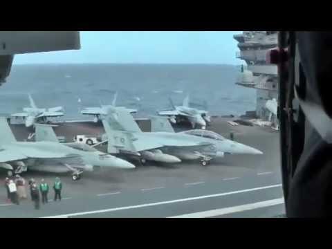Авианосец Джордж Буш самый мощный боевой корабль в мире