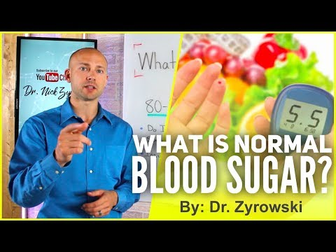 What Is Normal Blood Sugar | The Key To Longevity