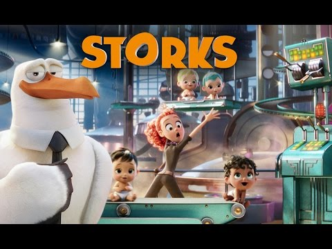 Thumbnail: Storks - Official Announcement Trailer [HD]