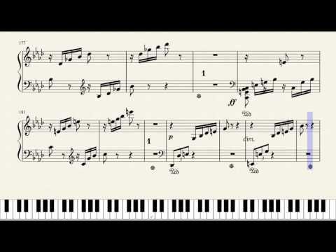 "Beethoven, Sonate No. 23, ""Appassionata"" 3rd Movement.  [Piano Tutorial + Sheets]"