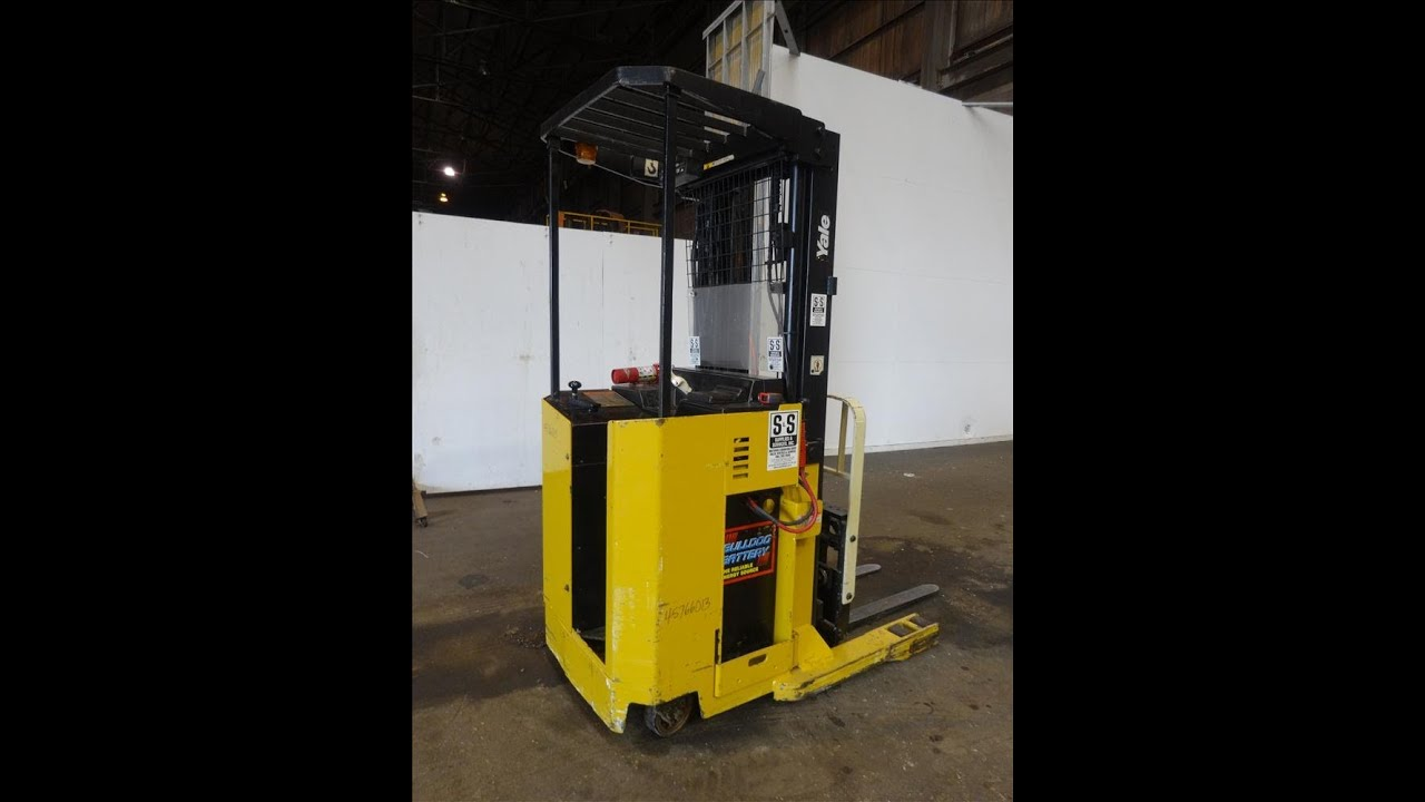 Used Yale Stand Up Forklift Stock 45766013 Youtube