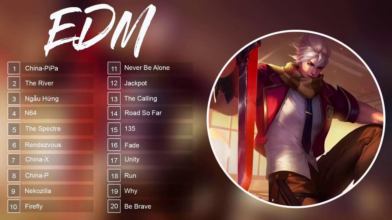Top 20 nhạc EDM china-pipa (nhạc phim liên quân)