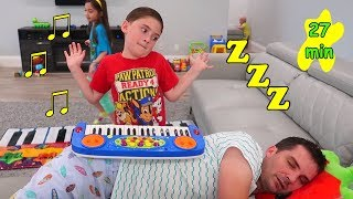 Kids Pretend Play with Favorite Toys and 27 minutes of Children's Stories