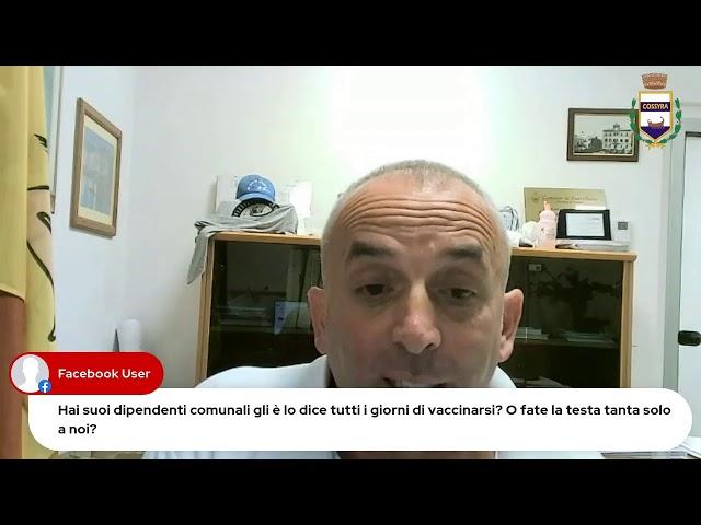 COMUNICAZIONI DEL SINDACO DEL 23 AGOSTO 2021