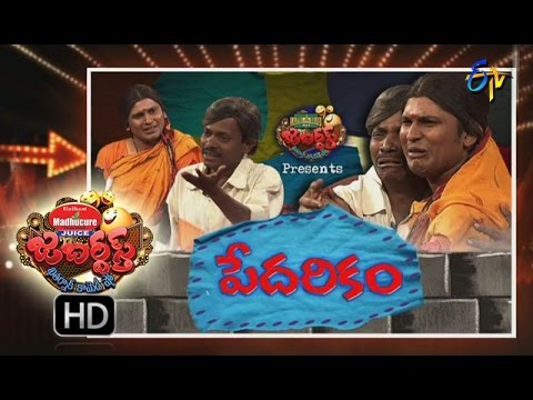Jabardasth - 15th September 2016- Full Episode - ETV Telugu