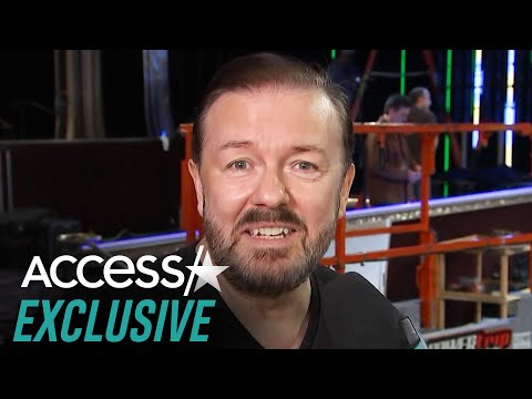 Ricky Gervais Jokes About Golden Globes' New Vegan Menu