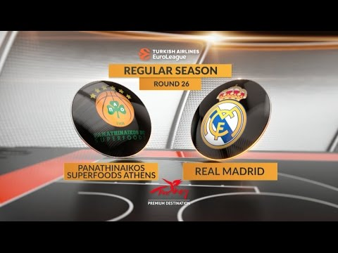 Highlights: Panathinaikos Superfoods Athens-Real Madrid