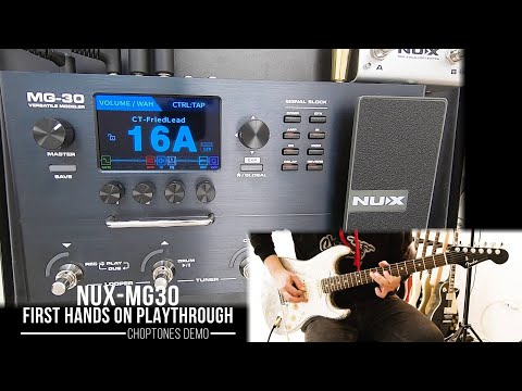 NUX MG-30 | First Hands On Playthrough Demo