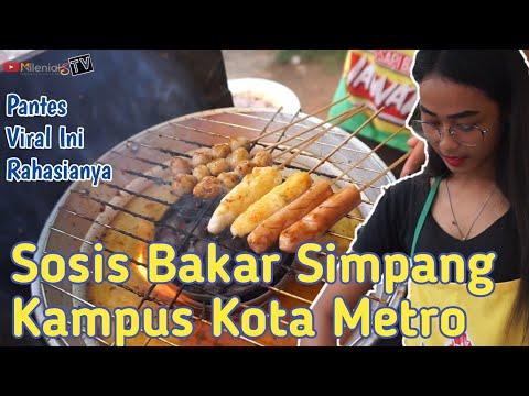 sosis-bakar-simpang-kampus-metro-|-cowok-cowok-pasti-demen-beli-nih-!!!