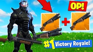 The *OVER POWERED* DOUBLE PUMP STRATEGY IS BACK In Fortnite Battle Royale!
