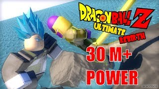Roblox | Contentious Ku strength 30 million million | Dragon Ball Z Ultimate Rebirth | MinhMaMa