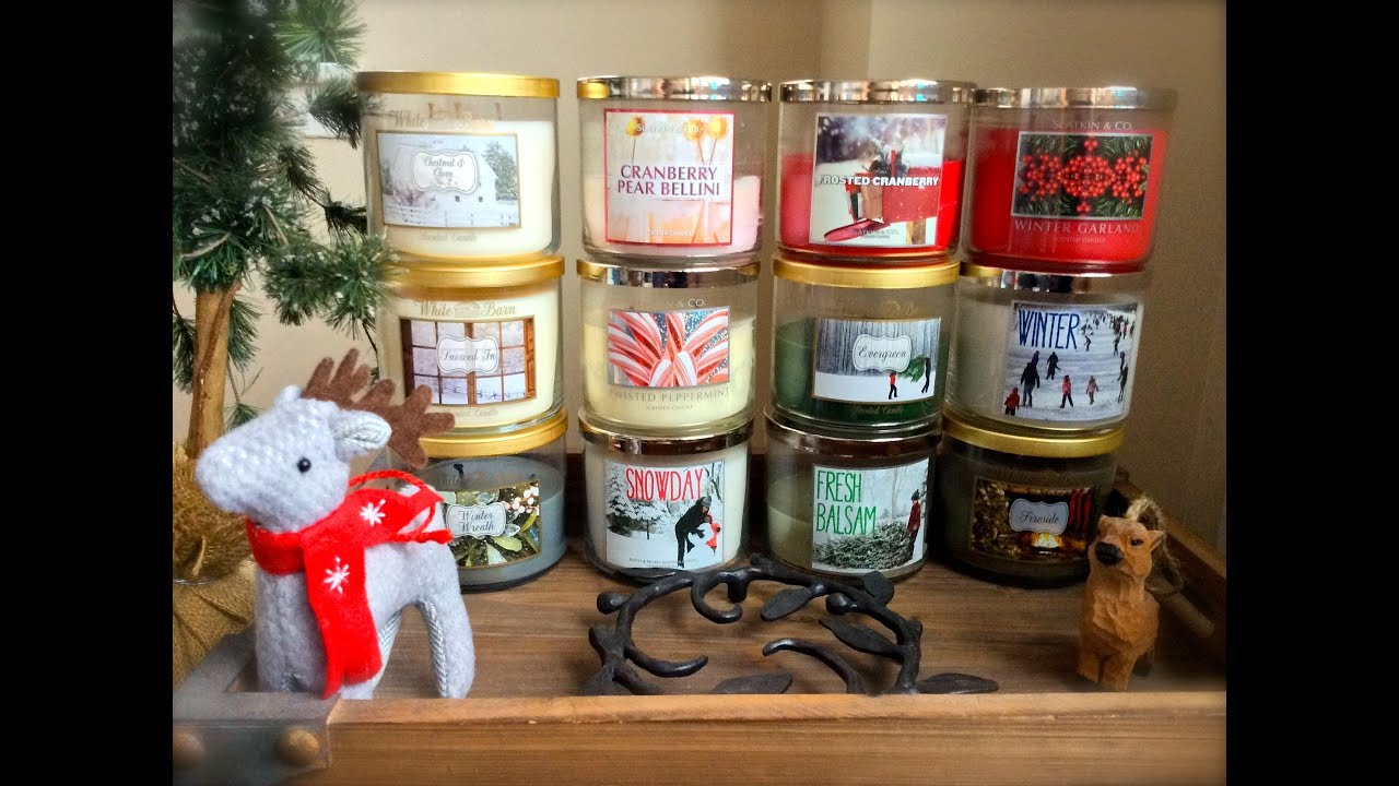 Bath and body works holiday scents - Bath Body Works White Barn Winter Candle Picks Favorite Winter Scents Youtube