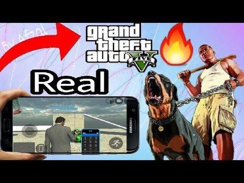 How to download GTA 5 in any android device with gameplay proof  BY TECNO  BOY
