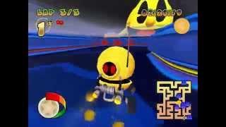 Pac-man World Rally PC Retro Maze Nightmare