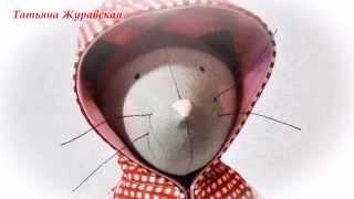 Мастер-класс Кошка Тильда/DIY Tilda Cat of fabric How to make/Tilda4kids