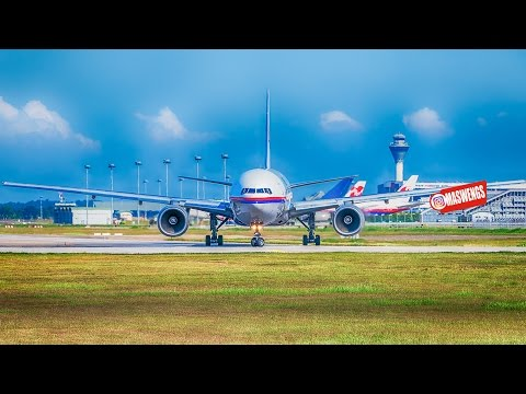[ 4K UHD ATC ] MH17 TRIBUTE Malaysia Airlines Boeing 777-200 ER 9M-MRE Takeoff Landing KLIA KUL WMKK
