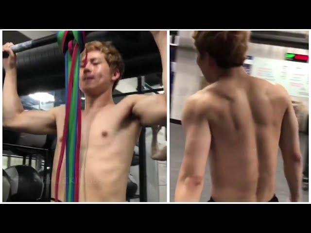 Monsta X Jooheon Training Hard to Reveal His ABS  몬스타엑스 주헌