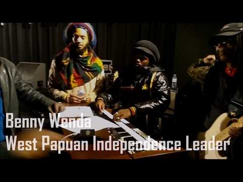 The Wailers support a Free West Papua