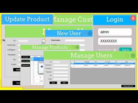 C# Inventory Management System - C# Project With Source Code - YouTube