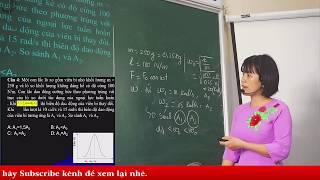 Vật lý 12 - Luyện thi đại học - CÁC LOẠI DAO ĐỘNG - Phần 1 | THCS và THPT Ngọc Viễn Đông