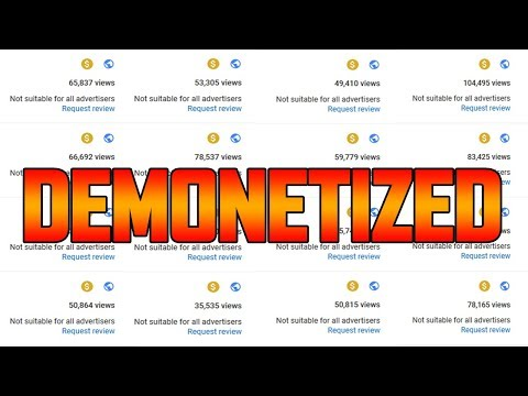YouTube Demonetized My Channel.