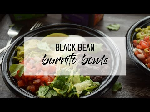 Chicken Black Bean Burrito Bowls