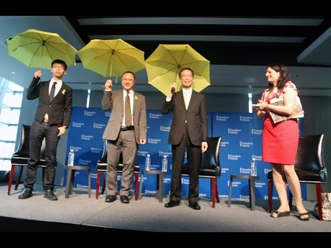 Freedom House Honors Three Hong Kong Heroes for our 75th Anniversary Kick-Off Reception