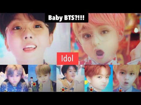 Idol MV W/ Baby BTS