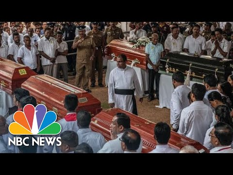 Bombed Church Hosts Mass Funeral For Sri Lanka Attack Victims | NBC News