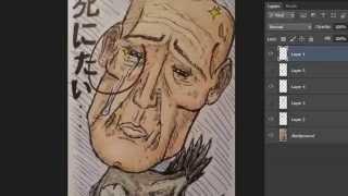 Critique Corner - Bird Man - Easy Things to Draw