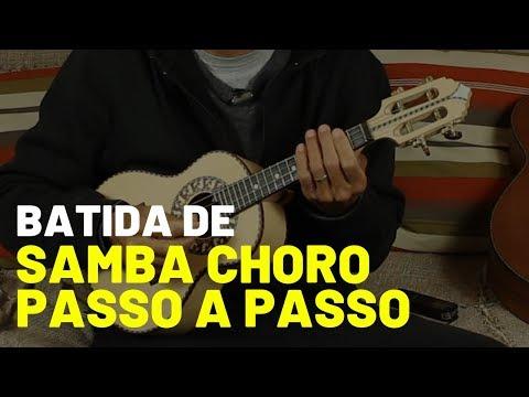 Batida de Samba Choro Passo a Passo no Cavaquinho - Professor Damiro