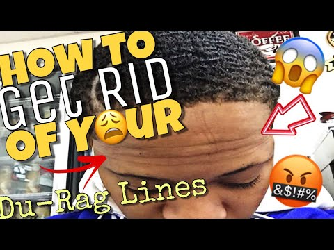 "360 Waves Hair Tutorials:""How To Get Rid Of Durag Lines"" HD 2018"