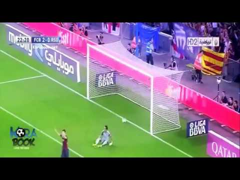 Barcelona vs Real Sociedad 4 1 All Goals & Highlights 24 09 2013 Travel Video