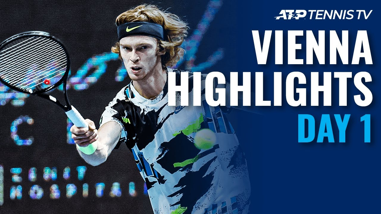 Shapovalov shocked by Rodionov; Rublev Rolls | Vienna 2020 Day 1 Highlights