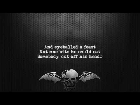 Avenged Sevenfold - Sunny Disposition [Lyrics on screen] [Full HD]