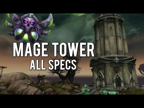 Rogue Mage Tower Challenge (All Specs) - WoW Legion 7.3.5