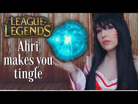 ASMR – AHRI ROLEPLAY ~ Let Me ASMR You! Whispers, Mouth Sounds, Kisses ~