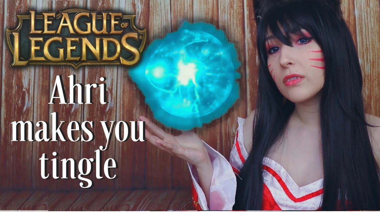 Asmr Ahri Roleplay Let Me Asmr You Whispers Mouth Sounds Kisses