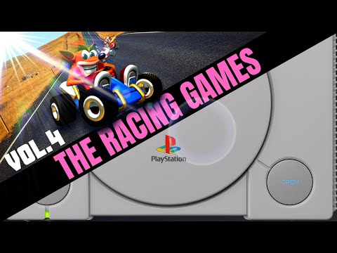 Sony Playstation: All RACING / DRIVING Games VOL.4 - Kart Battle