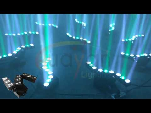 LED Moving Transformed Beam Matrix Light
