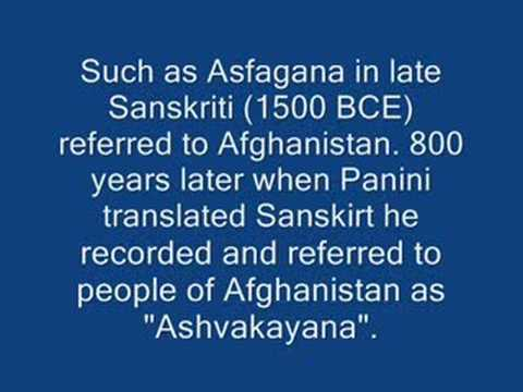 History of the name (Afghanistan)